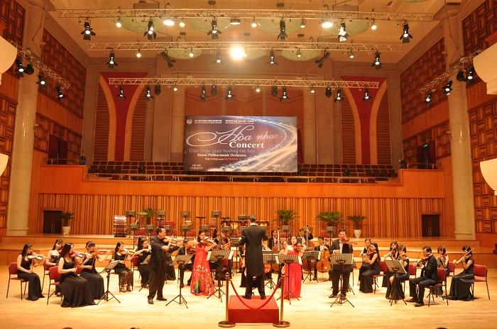 Hòa nhạc tại Nhạc viện Hà Nội