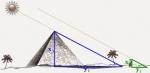 Cách đo chiều cao của Kim Tự Tháp