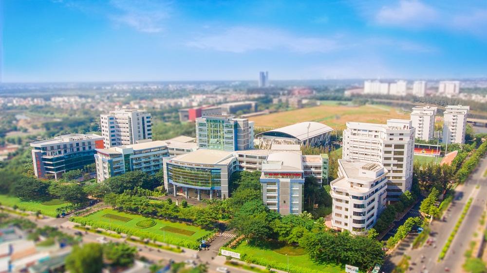 Đại học Tôn Đức Thắng có cơ sở vật chất hiện đại, tiện nghi