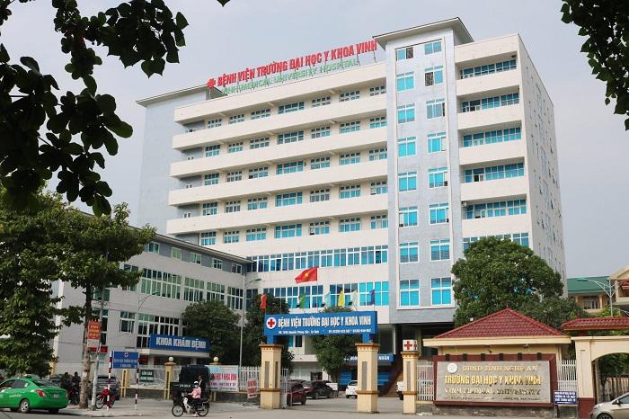 Bệnh viện đại học Y khoa Vinh trực thuộc trường đại học Y Vinh