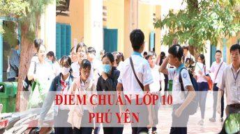 Điểm chuẩn trúng tuyển vào lớp 10 tỉnh Phú Yên qua các năm