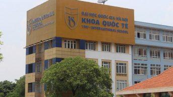 Học phí khoa Quốc tế Đại học Quốc gia Hà Nội năm 2021