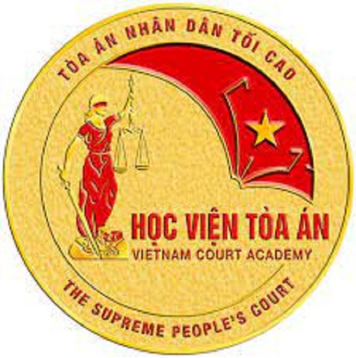LOGO Học viện Tòa án tại Việt Nam
