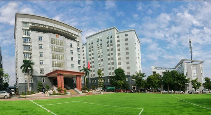 Môi trường học tập khang trang, hiện đại tại Đại học Kiểm sát